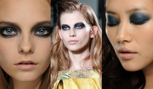 As makes do NYFW - Olhos marcados