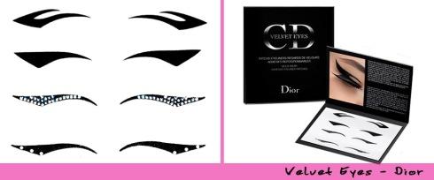 Velvet Eyes da Dior - Cartela